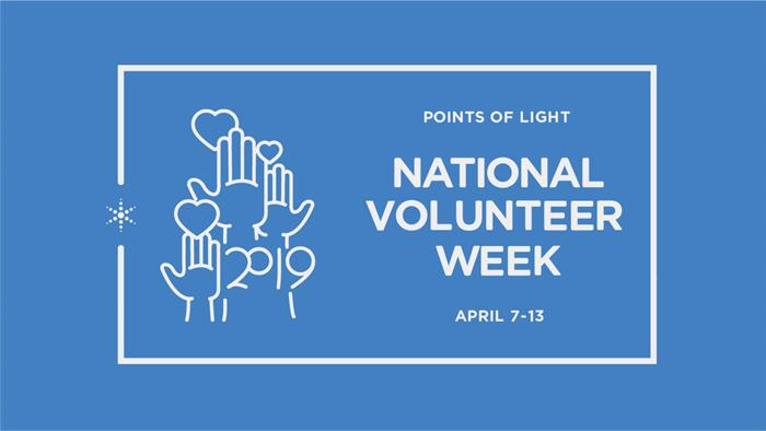 national volunteer week image