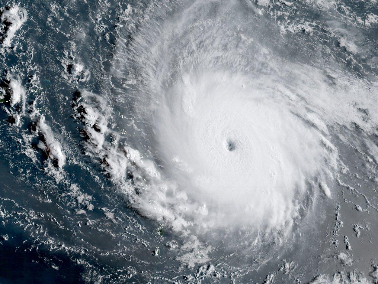 fundraising for Hurricane Irma