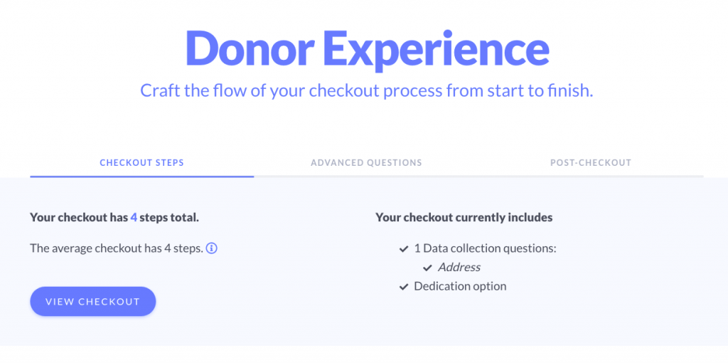 Donor Experience