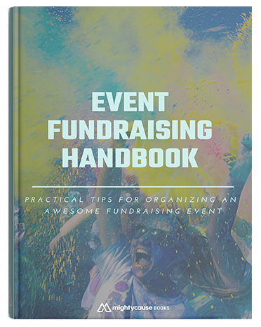 cover of event fundraising handbook