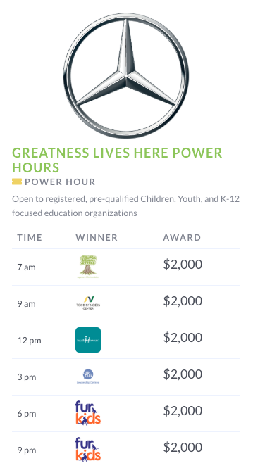 ga gives power hour screencap