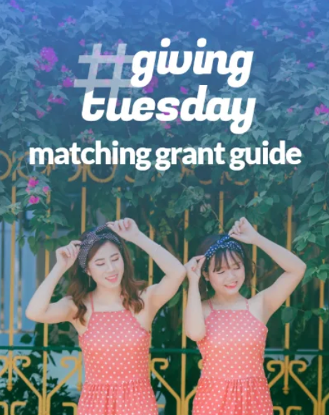 giving tuesday matching grants ebook cover