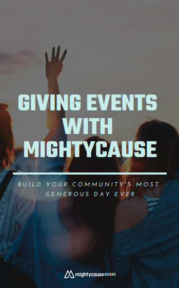 what is a giving event: cover of ebook