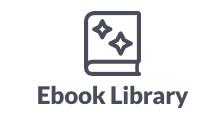 fundraising resources: ebook library icon