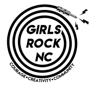 girls rock nc's nonprofit logo