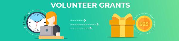 corporate volunteer grants image